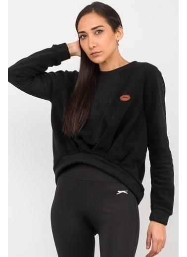 Slazenger Slazenger ONAIR Kadın Sweatshirt K. Siyah